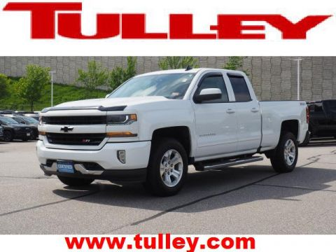 Pre-Owned 2018 Chevrolet Silverado 1500 4WD Double Cab 143.5 LT w/2LT